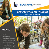 front cover of community and continuing education schedule